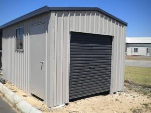 custom domestic shed single bay