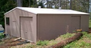 custom enclosed shed