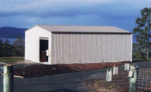 custom enclosed shed
