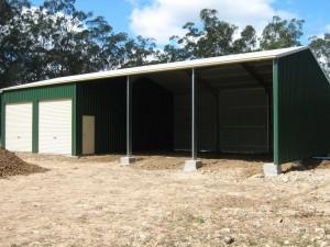 custom rural/industrial shed