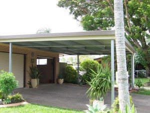 custom skillion carport