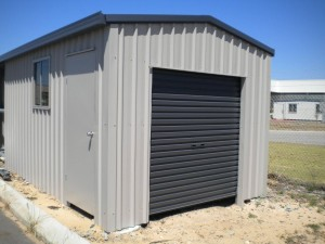 custom domestic shed single bay
