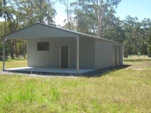 custom rural shed